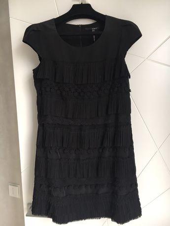 Мини черное платье Lily