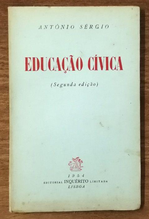 educação cívica, antónio sérgio, 1954 Estrela - imagem 1