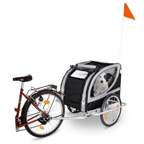Przyczepka rowerowa dla psa Doggy Liner do 50 kg Paris de Luxe