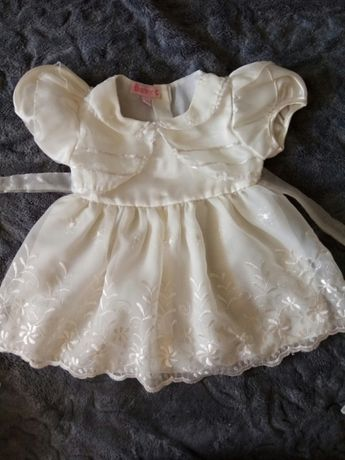 Нарядное Платье на крестины 3-6 месяцев
