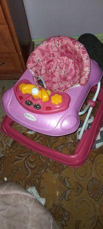 Różowy chodzik dla dziewczynki