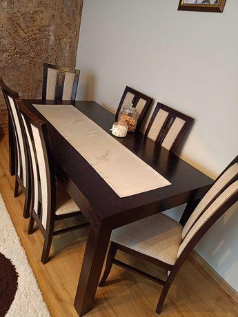 Stół rozkładany+6 krzeseł Polecam!!!