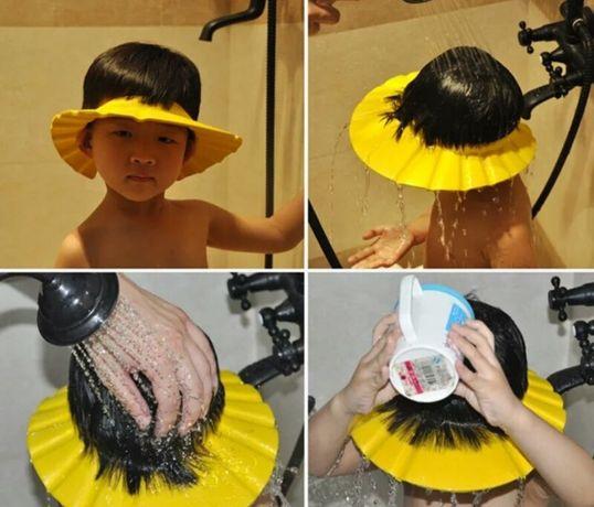 Козырек для мытья головы; ободочек
