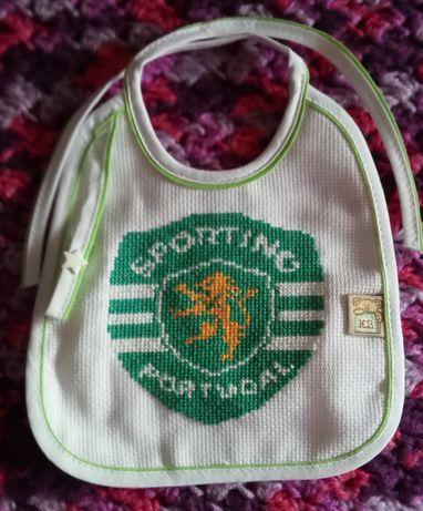 Babete bordado Sporting SCP