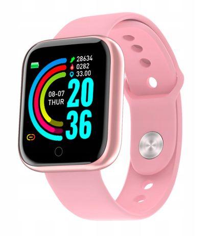 Opaska Sportowa Smartwatch SmartBand Zegarek / Różowy