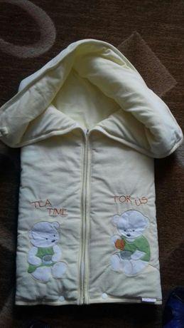 Детское одеялко-конверт.