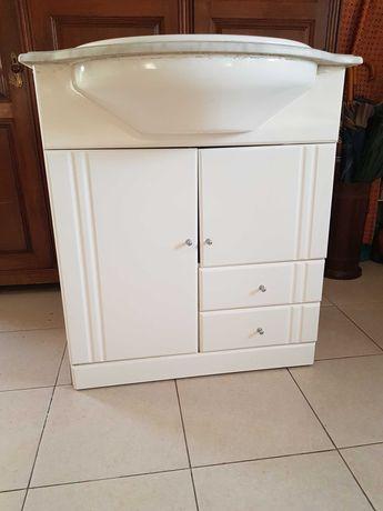 Movel de casa de banho com espelho