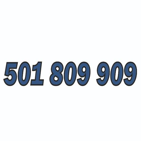 501_809_909 - sprzedam złoty numer Orange.