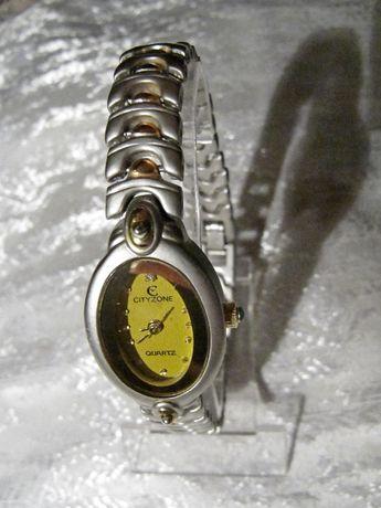 Часы кварцевые CityZone в коллекцию, 2007 года, женские, новые