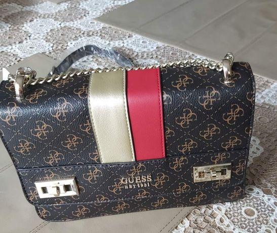 Piękna torebka damska marki Guess model Katey