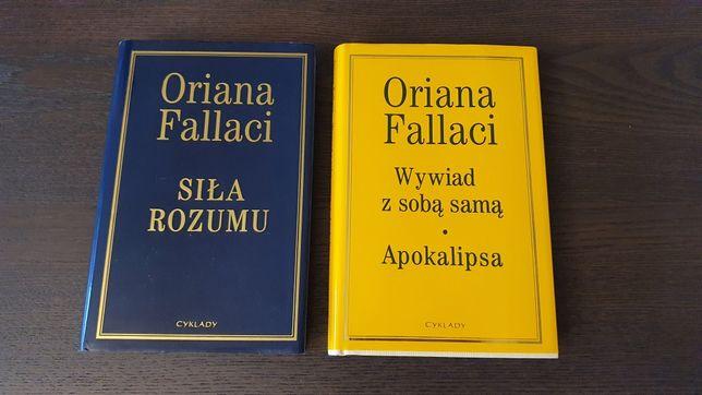 Oriana Fallaci - dwie książki