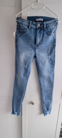 Spodnie jeansowe Mickey r.38