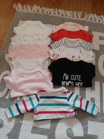 Ubranka dla dziewczynki roz 56