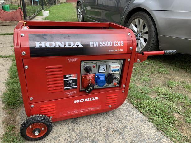 Бензиновий генератор HONDA EМ 5500