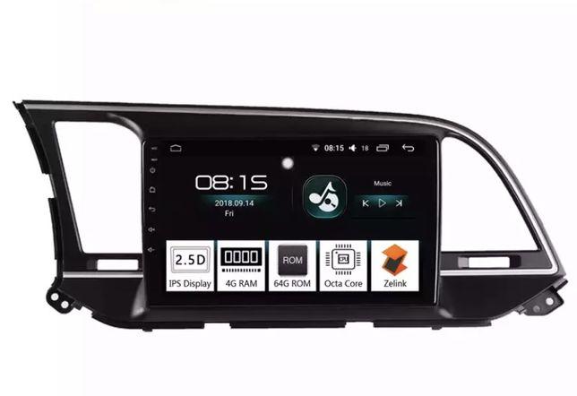 Android Магнитола Hyundai Elantra AD 2015-2019, 9 дюймов, 8 ядер+подар