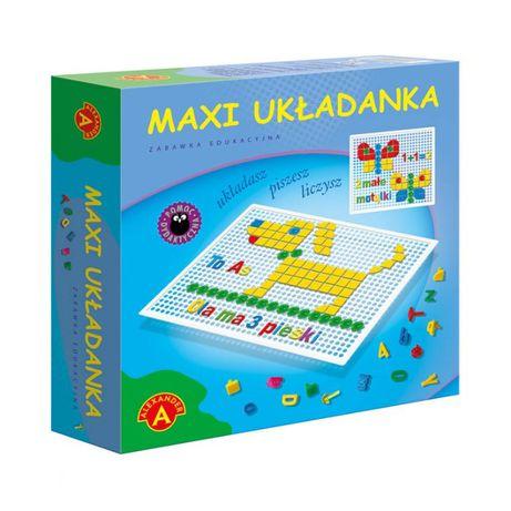 Maxi Układanka Kreatywna EDUKACYJNA 4+