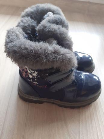 Buty zimowe kozaki kozaczki roz. 27