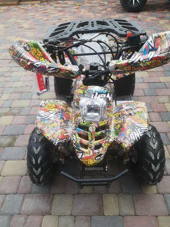 Распродажа!!! продам новый подростковый квадроцикл 110 куб., Бензин