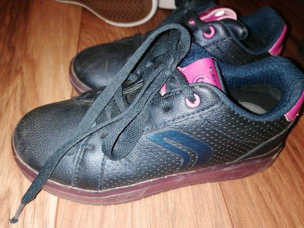 Geox świecące 30 czarne sneakersy tenisówki