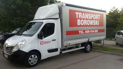Przeprowadzki Usługi transportowe Transport Włocławek Taxi Bagażowe