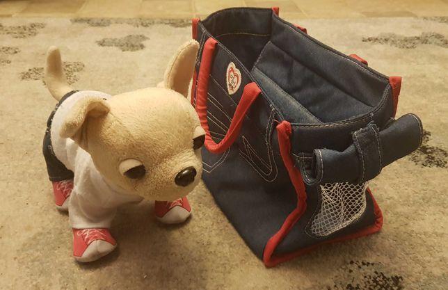 chi chi love piesek w torbie