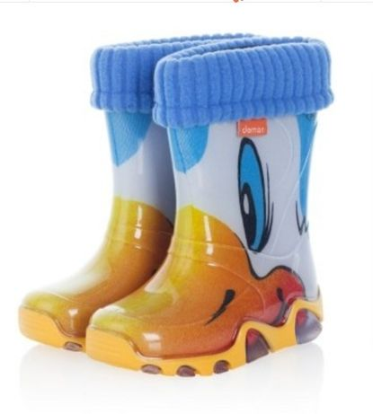 Ризинові Demar чобітки для хлопчика.