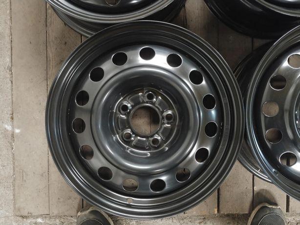 Nowe felgi stal stalowe 5x114,3 6,5J R 16 et46 hyundai kia mazda fi67
