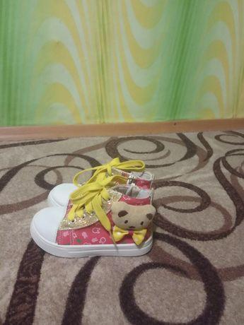 Стильные кеды,кроссовки на девочку 16 см
