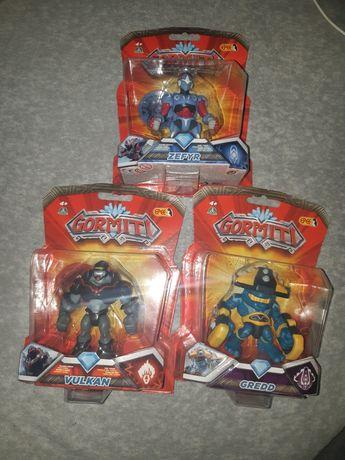 Figurki GORMITI x3
