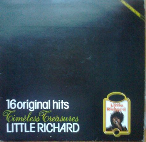 Пластинка винил LITTLE RICHARD 16 original hits