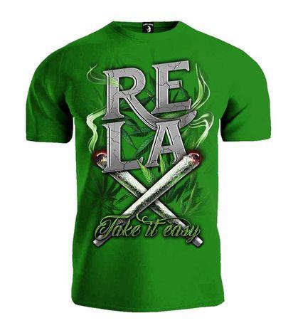 T-shirt Public Enemy RELAX Take it easy