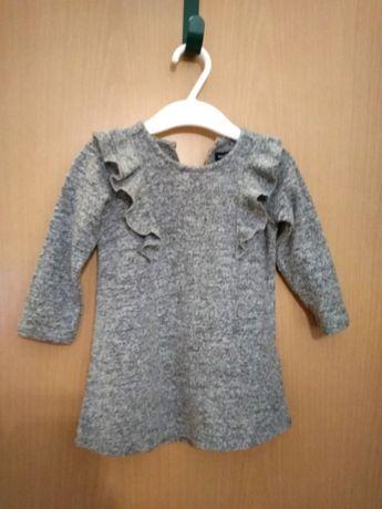 Śliczna sukienka marki RSERVED rozmiar 74
