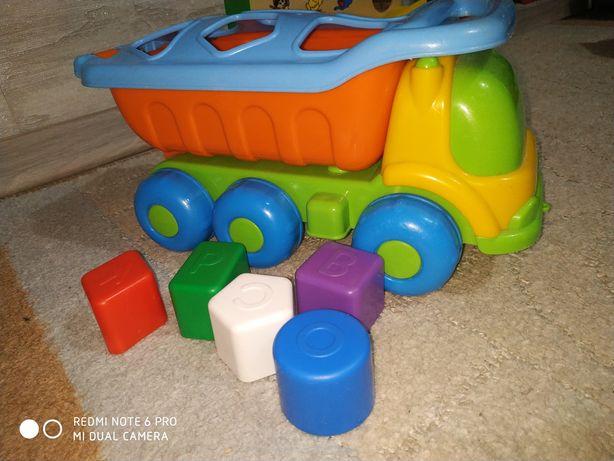 Машина, Сортер, игрушка, Самосвал