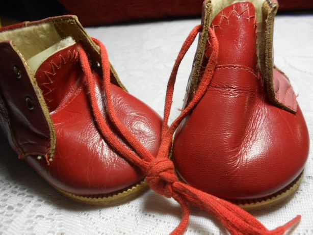 Кожаные ботиночки производства СССР