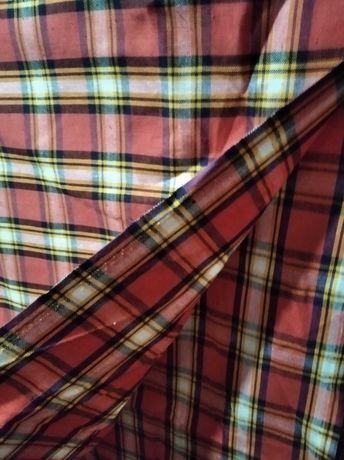 Ткань шотландка СССР