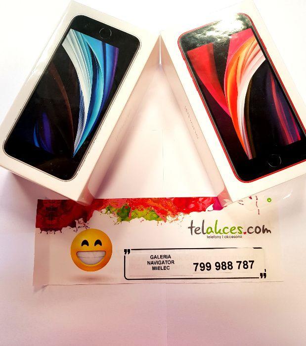 Nowy Iphone SE Red/White black 64GB NOWY , Sklep Navigator Mielec -zł Mielec - image 1