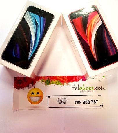 Nowy Iphone SE Red/White  black 64GB NOWY , Sklep Navigator Mielec -zł