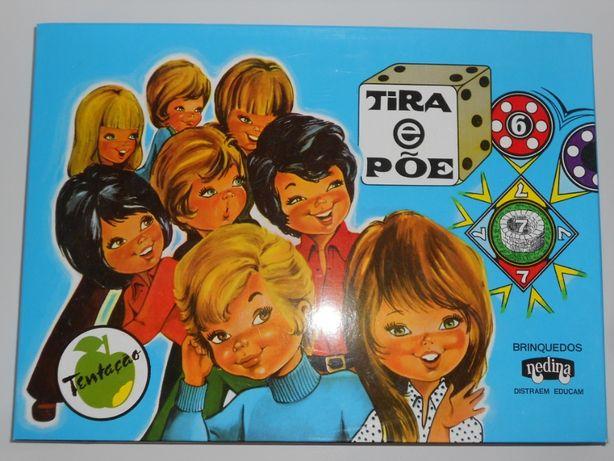 Antigos jogos tabuleiro Nedina made in Portugal