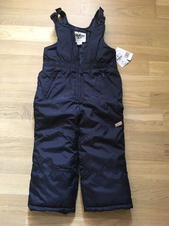 Новый Зимний комбинезон Oshkosh Carter's штаны унисекс reima lenne 3-4