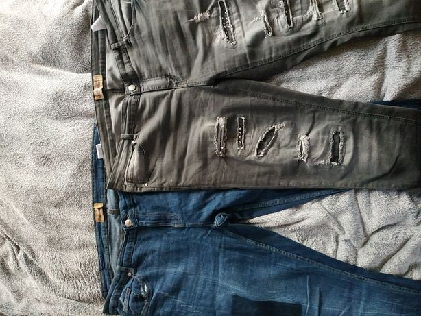Spodnie jeansy roz 48
