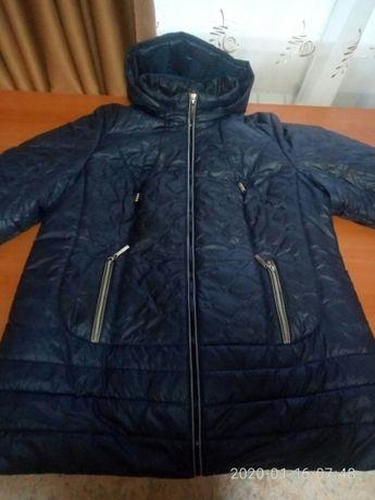Куртка весенняя-осенняя. Цвет темно-синяя. Только Харьков