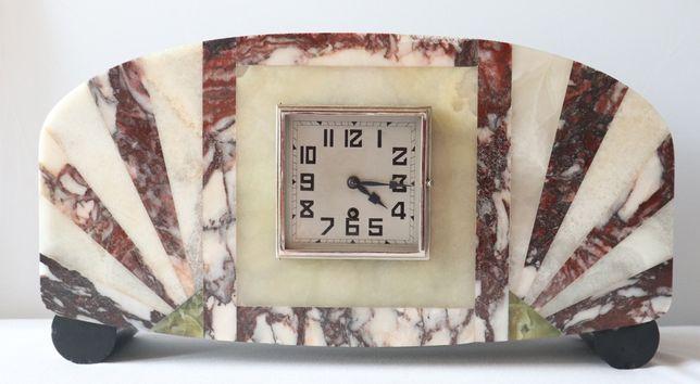 Zegar gabinetowy Art. Deco