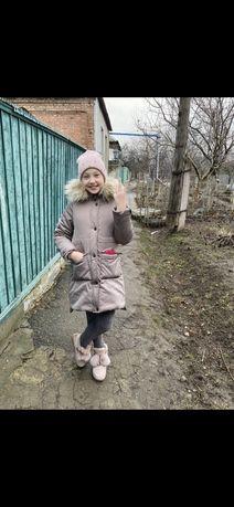 Зимняя курточка парка 10-11 лет