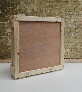 Коробка для картин для пересылки за границу