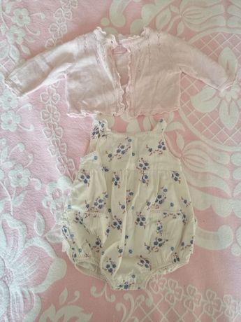 Jardineira de bebé + casaco