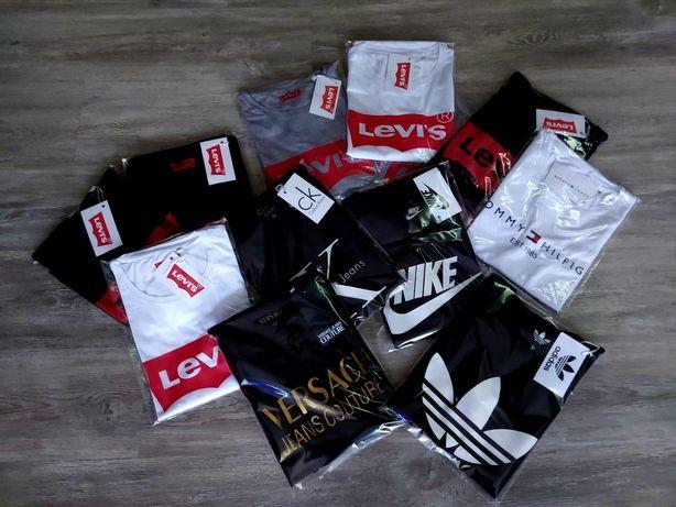 Męskie koszulki Premium Versace i wiele innych