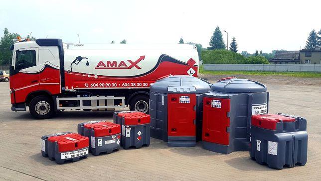 Zbiornik mobilny na olej napędowy 950l, RATY AMAX