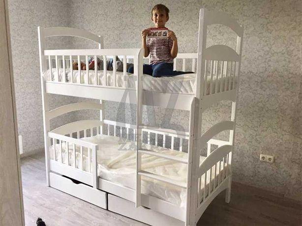 Кровать двухъярусная Карина трансформер,цена завода