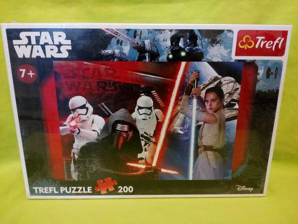 Puzzle  Trefl, 200, Star Wars, NOWE