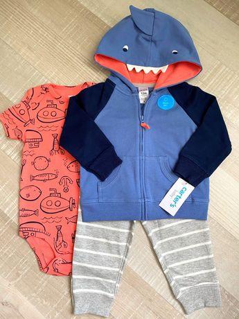 Детский костюм,  Carter's для мальчика и девочки Картерс 9М 12 М
